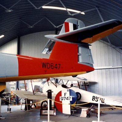 The Bristol Scout D replica